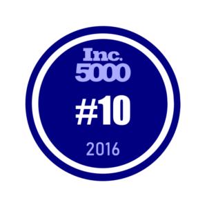 Inc. 5000 #10 2016