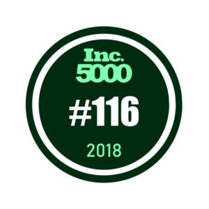 Inc. 5000 #116 2018