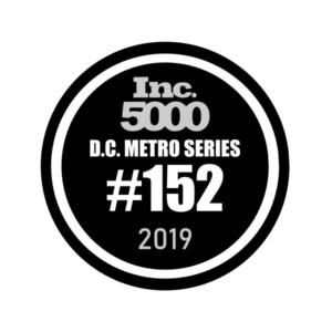 Inc. 5000 DC #152 2019