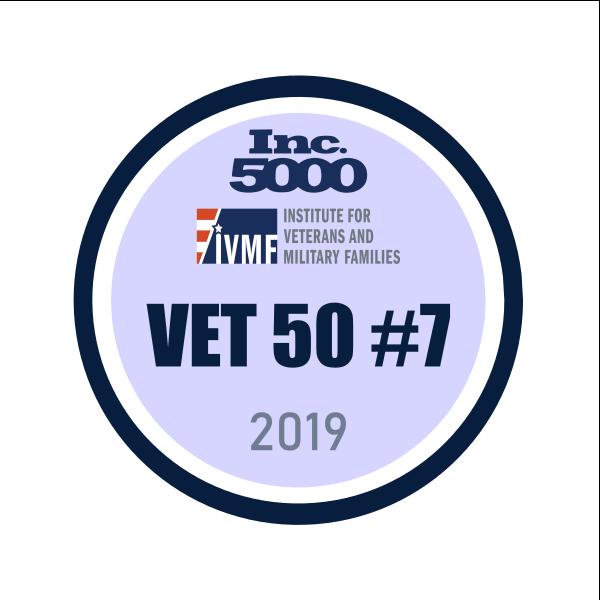 Inc. 5000 Vet50 #7 2019